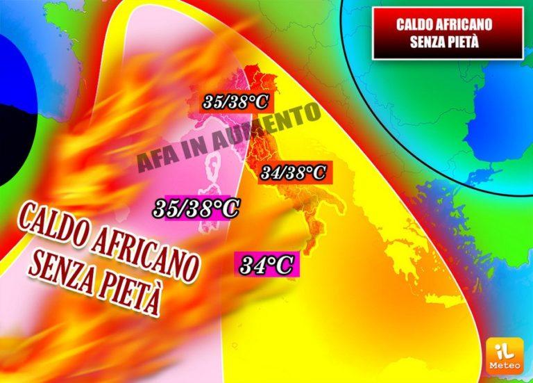 Il caldo africano avanza?